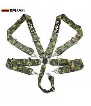 "Ремни безопасности EPMAN 3"" (76мм), 5 точек, фаст лок"
