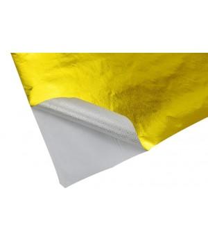 Теплоотражающее полотно 100х120см, gold