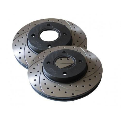Перфорированные тормозные диски
