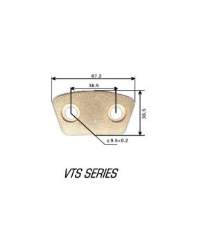 Керамические накладки сцепления, 67х36мм