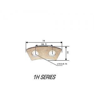 Керамические накладки сцепления, 78х32мм