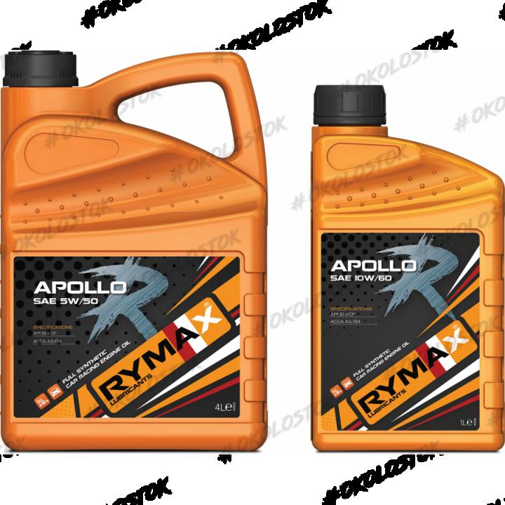 Моторное масло 5W40 RYMAX Apollo R